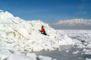 "Ice push creates ""incredible sights"" but dangerous conditions on Utah Lake"
