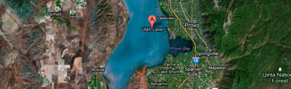 Driving directions: How to get to Utah Lake