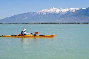 Wish you were here: Utah Lake kayaking edition