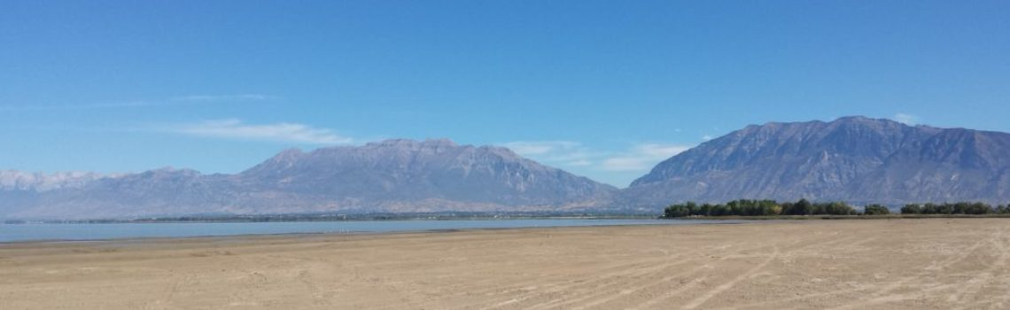 Utah Lake Perspective: A Glass Half Full